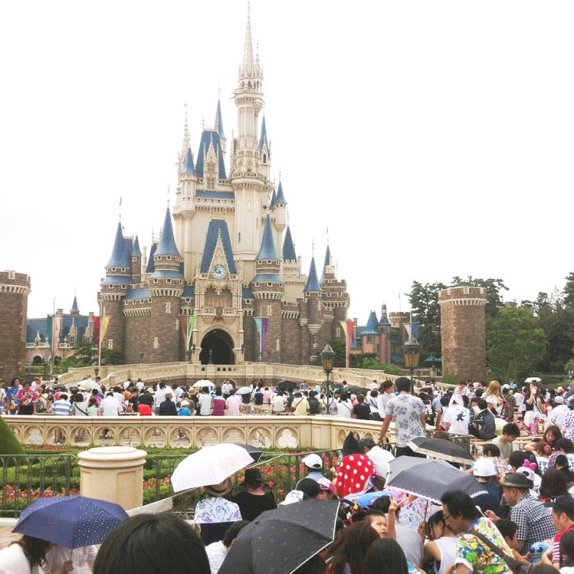 Tokyo Disneyland; Happiness isHere