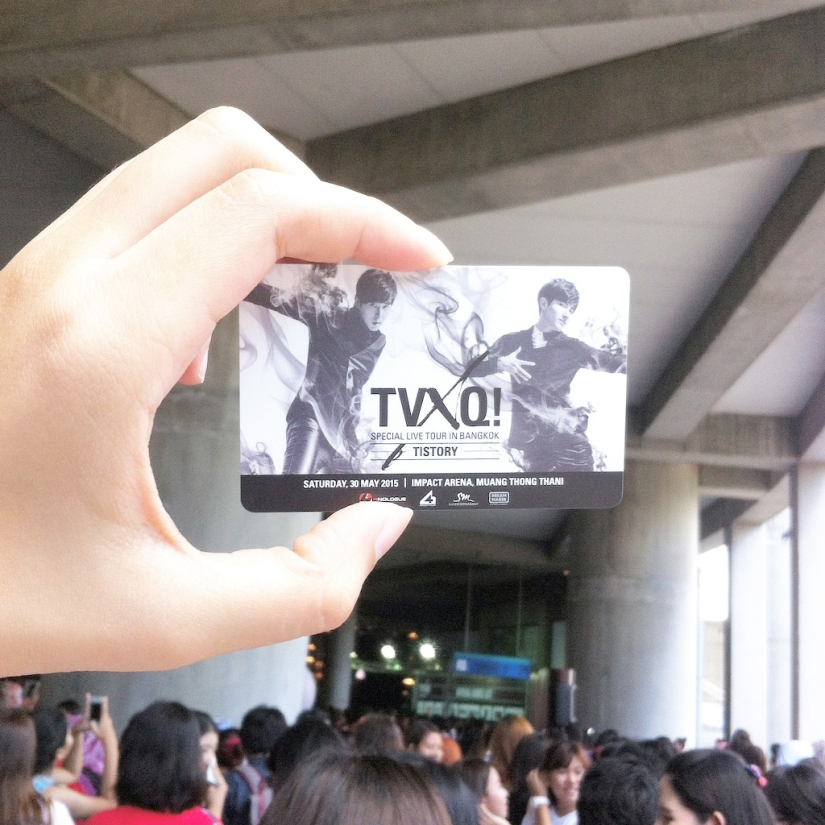 TVXQ Special Live Tour – T1STORY in Bangkok [150530]