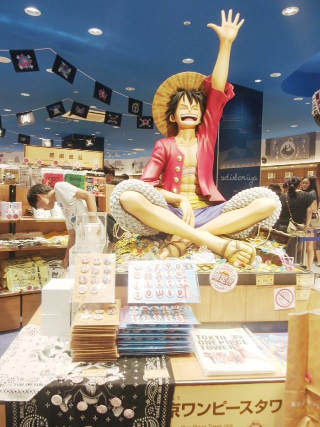 mugiwara store - tokyo one piece tower