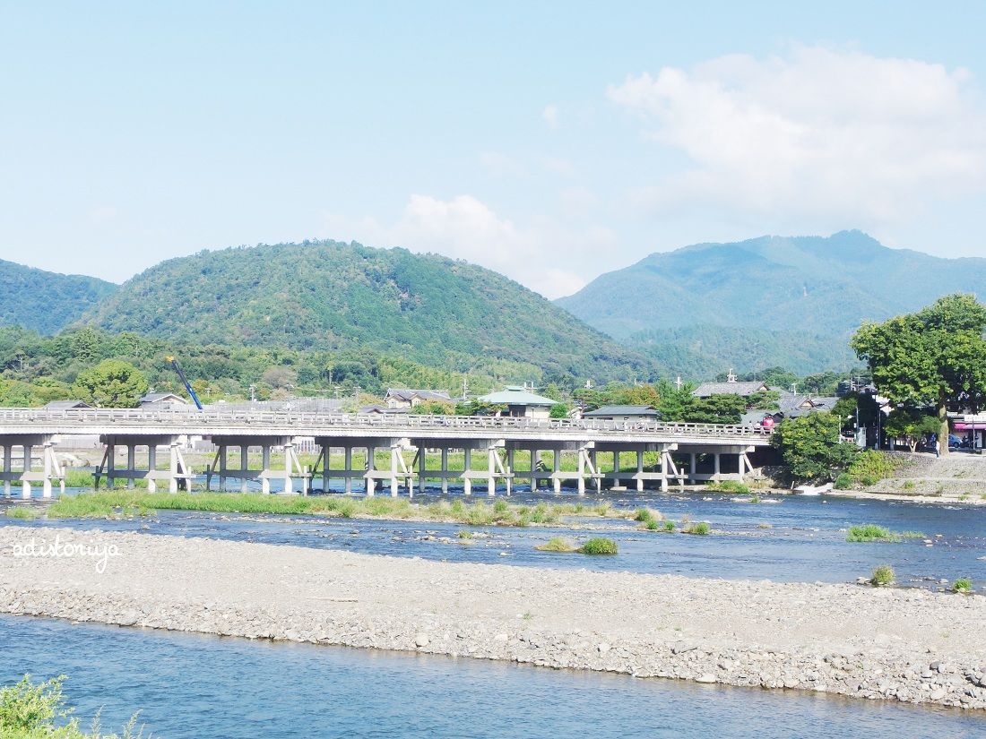 A Day in Arashiyama, Kyoto (Part 1) : Katsura River & TogetsukyoBridge